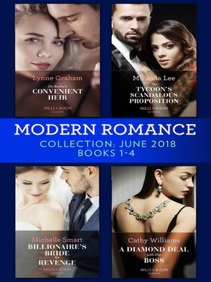 cover image of Modern Romance Collection June 2018 Books 1--4